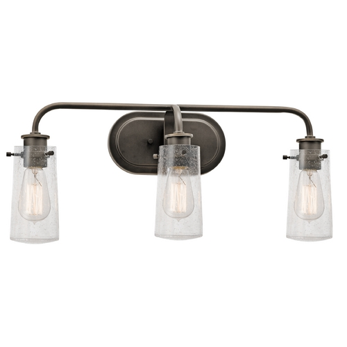 Kichler Lighting Kichler Lighting Braelyn Olde Bronze Bathroom Light 45459OZ