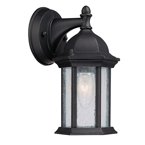 Capital Lighting Capital Lighting Main Street Black Outdoor Wall Light 9831BK