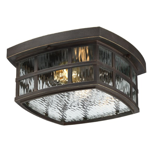 Quoizel Lighting Quoizel Stonington Palladian Bronze Close To Ceiling Light SNN1612PN