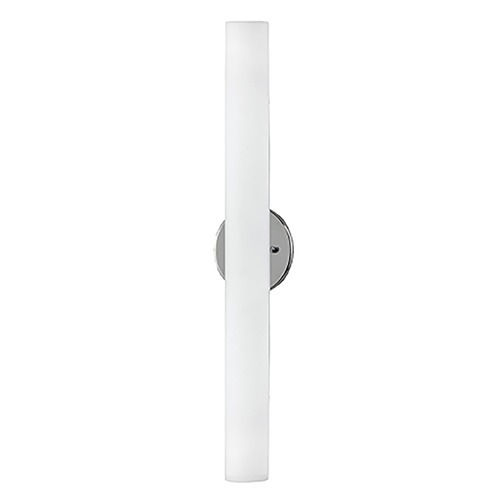 Kuzco Lighting Modern Brushed Nickel LED Sconce with White Opal Shade 3000K 1400LM WS8324-BN