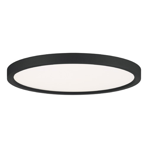 Quoizel Lighting Quoizel Lighting Outskirts Earth Black LED Flushmount Light OST1715EK