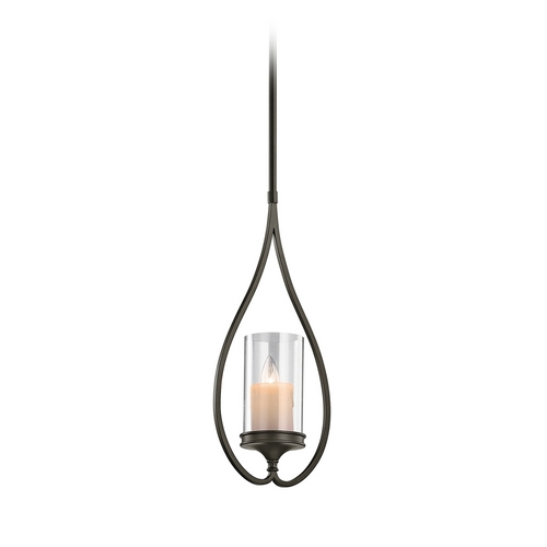 Kichler Lighting Kichler Mini-Pendant Light with Clear Glass 42865SWZ