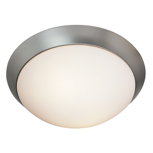 Access Lighting Access Lighting Cobalt Brushed Steel LED Flushmount Light 20624LEDD-BS/OPL