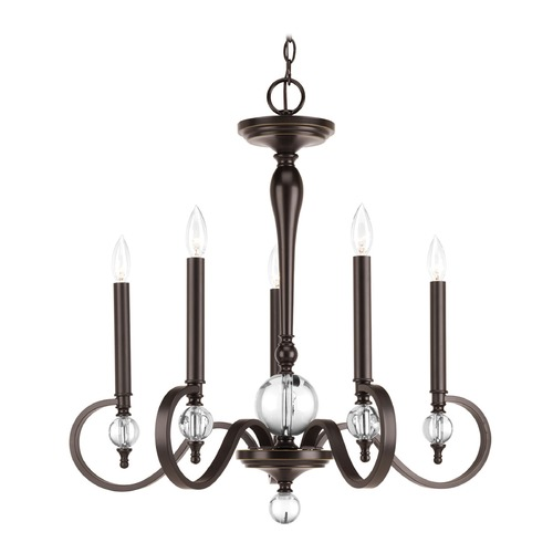 Progress Lighting Progress Lighting Esteem Antique Bronze Chandelier P4615-20