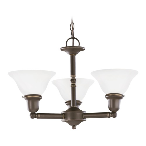 Sea Gull Lighting Sea Gull Lighting Sussex Heirloom Bronze LED Chandelier 31060EN3-782