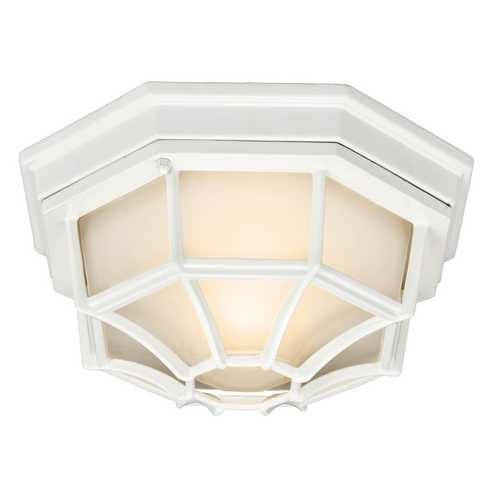Kichler Lighting Kichler Outdoor Ceiling Light in White Finish 11028WH