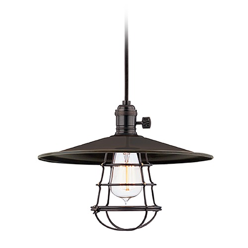 Hudson Valley Lighting Mini-Pendant Light 8002-OB-MS1-WG