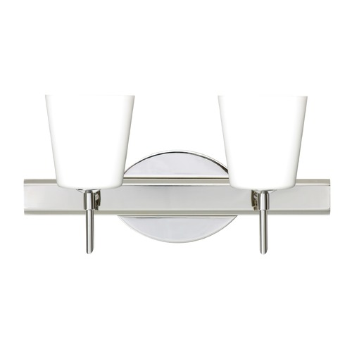 Besa Lighting Besa Lighting Canto Chrome Bathroom Light 2SW-513107-CR