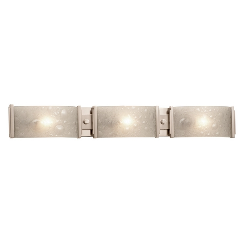 Kalco Lighting Kalco Lighting Cirrus Satin Nickel Bathroom Light 5093SN
