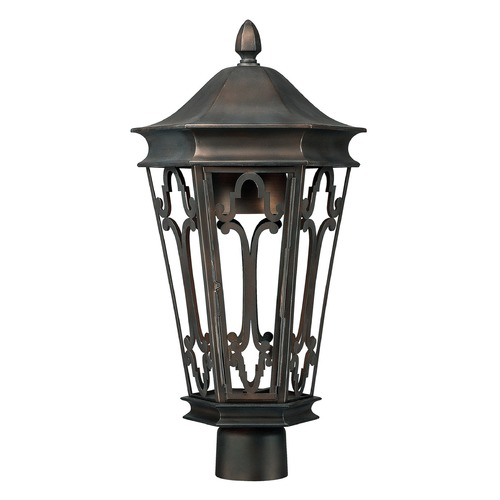 Capital Lighting Capital Lighting Dark Sky Old Bronze Post Light 9445OB