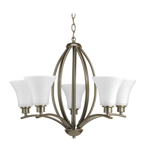 Progress Lighting Progress Lighting Joy Antique Bronze Chandelier P4490-20W