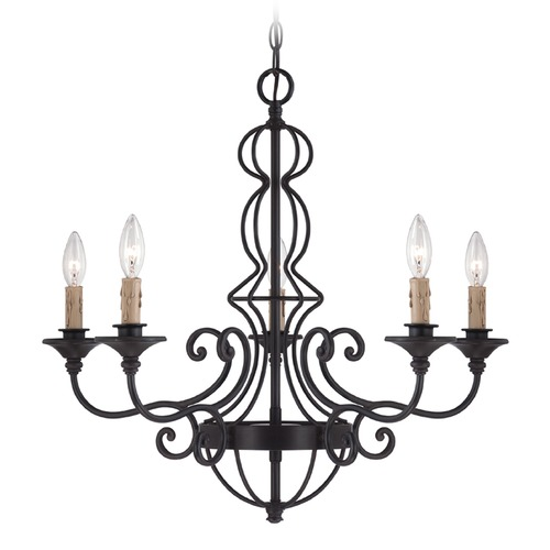 Designers Fountain Lighting Designers Fountain Tangier Natural Iron Chandelier 85585-NI