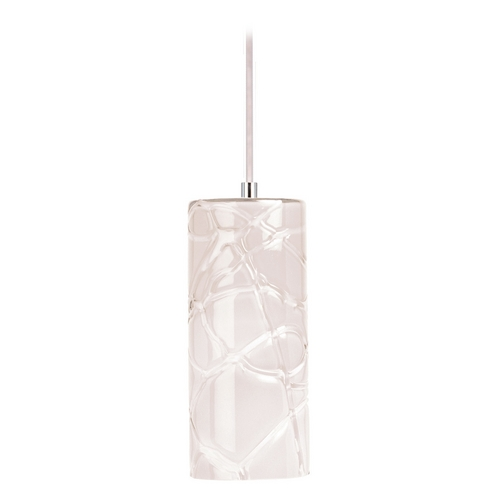 ET2 Lighting Modern Mini-Pendant Light with White Glass E20219-01