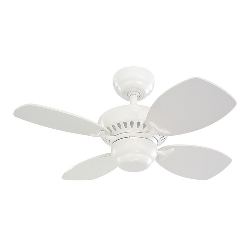 Monte Carlo Fans Ceiling Fan Without Light in White Finish 4CO28WH