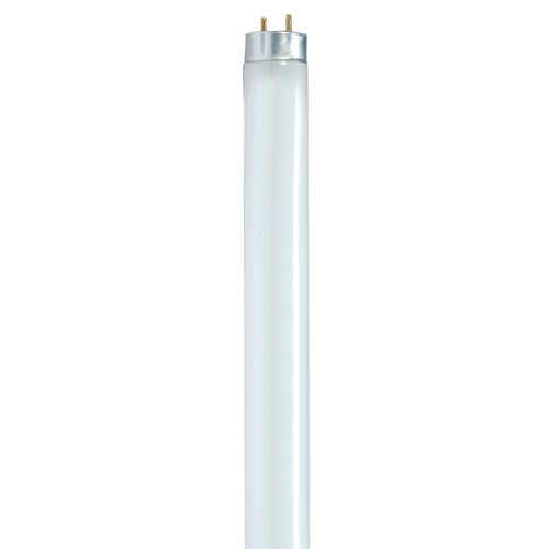 Satco Lighting Fluorescent T8 Light Bulb Bi-Pin Base 3000K by Satco Lighting S8404