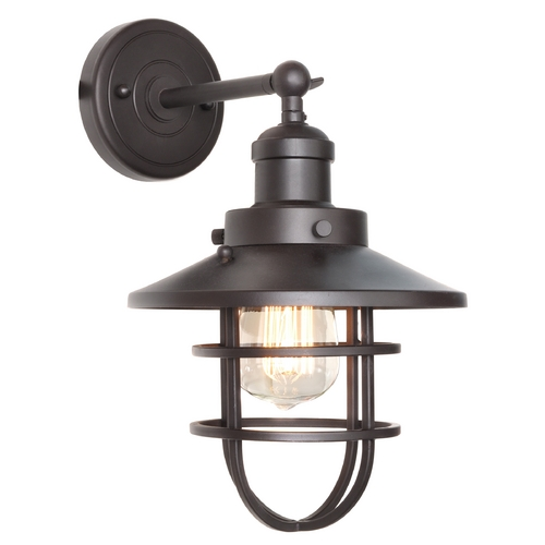 Maxim Lighting Maxim Lighting Mini Hi-Bay Bronze Sconce 25070BZ/BUI