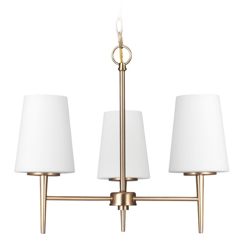 Sea Gull Lighting Sea Gull Lighting Driscoll Satin Bronze Mini-Chandelier 3140403-848