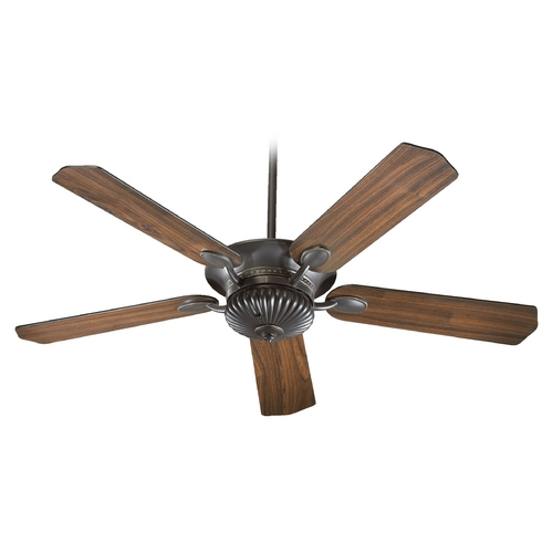 Quorum Lighting Quorum Lighting Bakersfield Old World Ceiling Fan Without Light 71525-95