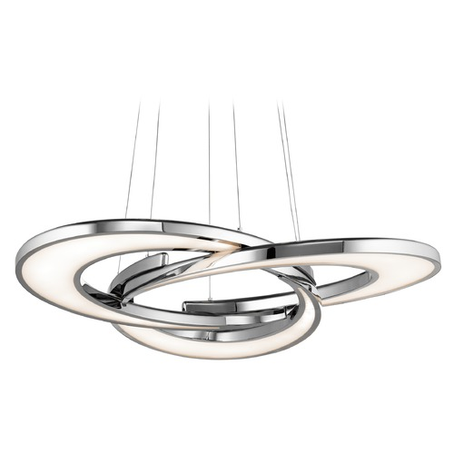 Elan Lighting Elan Lighting Destiny Chrome LED Pendant Light 83620