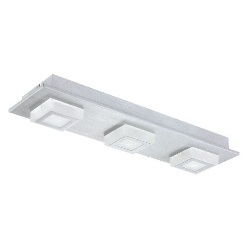 Eglo Lighting Eglo Masiano Brushed Aluminum LED Semi-Flushmount Light 94507A