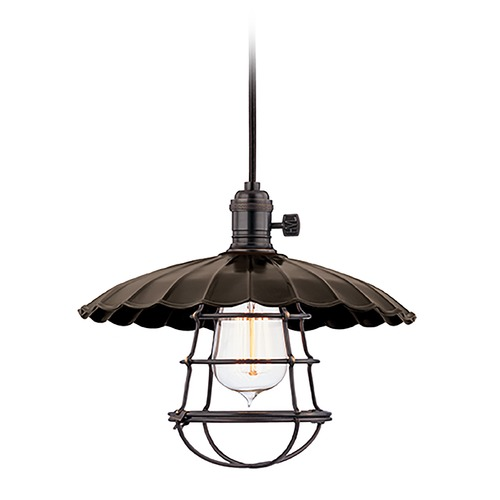 Hudson Valley Lighting Mini-Pendant Light 8002-OB-MS3-WG