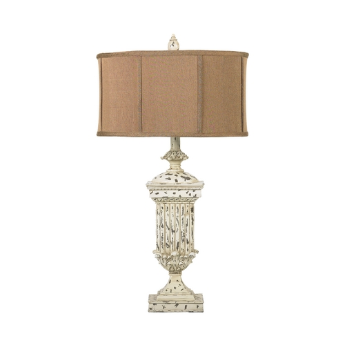 Dimond Lighting Table Lamp with Brown Shade 93-029