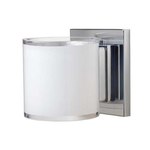 Besa Lighting Besa Lighting Pogo Chrome Sconce 1WS-7180SF-CR