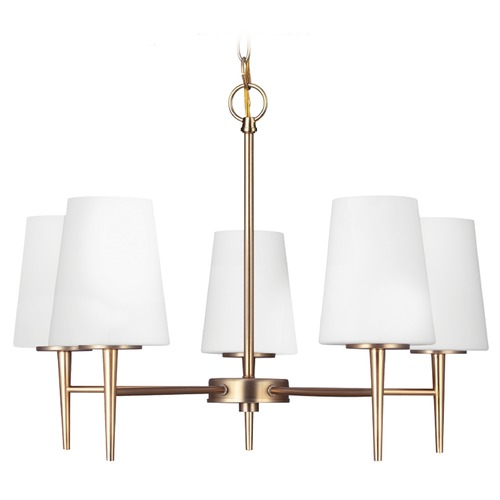 Sea Gull Lighting Sea Gull Lighting Driscoll Satin Bronze Chandelier 3140405-848