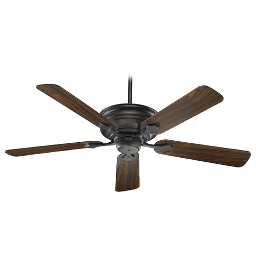 Quorum Lighting Quorum Lighting Barclay Toasted Sienna Ceiling Fan Without Light 76525-44