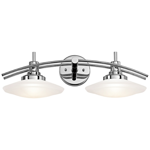 Kichler Lighting Kichler Lighting Structures Chrome Bathroom Light 6162CH