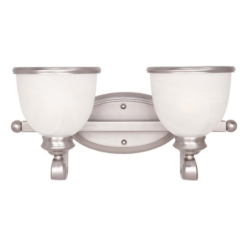 Savoy House Savoy House Pewter Bathroom Light 8-5779-2-69