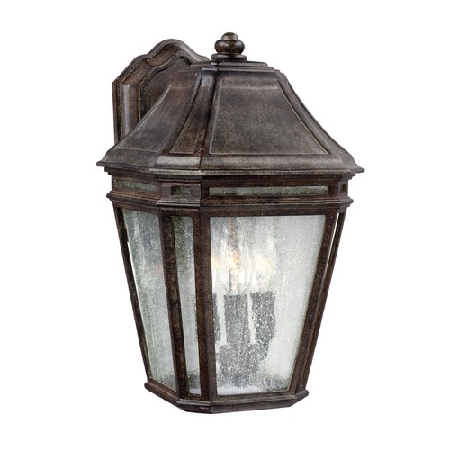 Feiss Lighting Feiss Lighting Londontowne Weathered Chestnut Outdoor Wall Light OL11301WCT