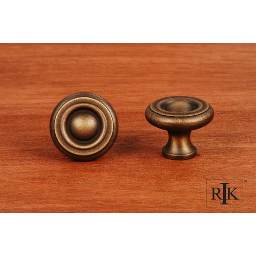 RK International Small Solid Georgian Knob CK4244AE