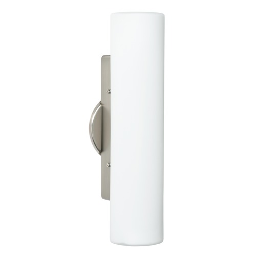 Besa Lighting Besa Lighting Baaz Satin Nickel LED Sconce 770207-LED-SN