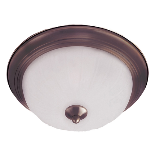 Maxim Lighting Maxim Lighting Essentials Oil Rubbed Bronze Flushmount Light 5832FTOI