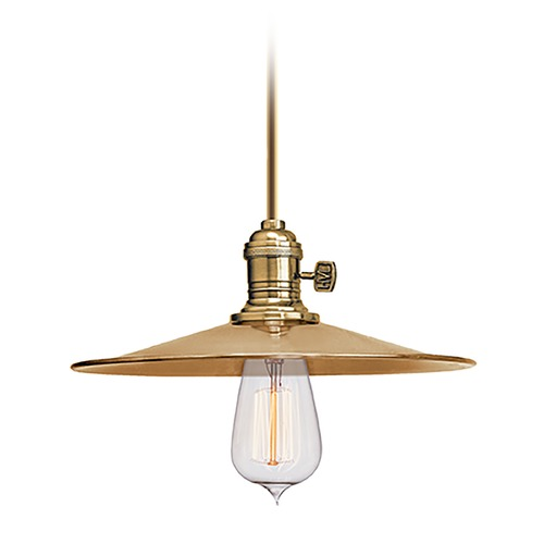 Hudson Valley Lighting Mini-Pendant Light 9001-AGB-MS1