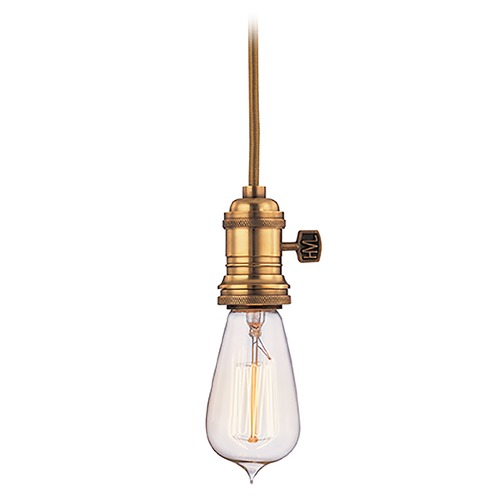 Hudson Valley Lighting Mini-Pendant Light 8001-AGB