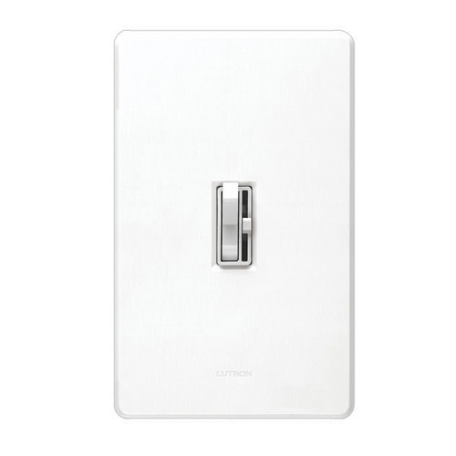 Lutron Dimmer Controls Dimmer Switch in White Finish AYCL-153P-WH