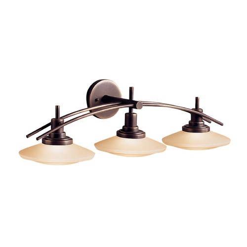 Kichler Lighting Kichler Three-Light Bathroom Vanity Light 6463OZ