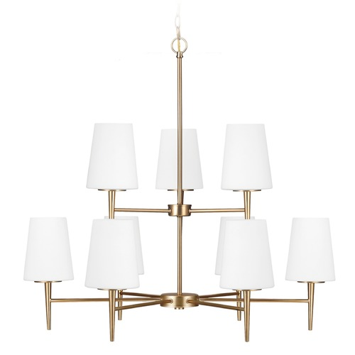 Sea Gull Lighting Sea Gull Lighting Driscoll Satin Bronze Chandelier 3140409-848