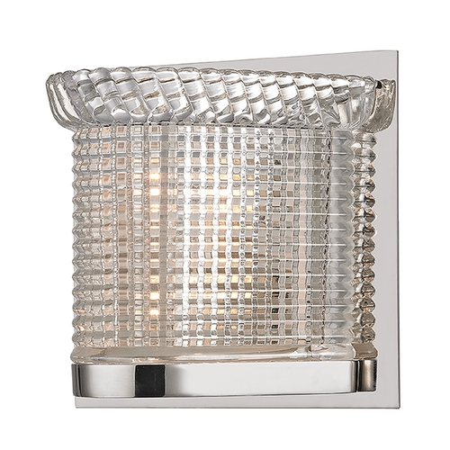 Hudson Valley Lighting Hudson Valley Lighting Denning Polished Nickel Sconce 5191-PN