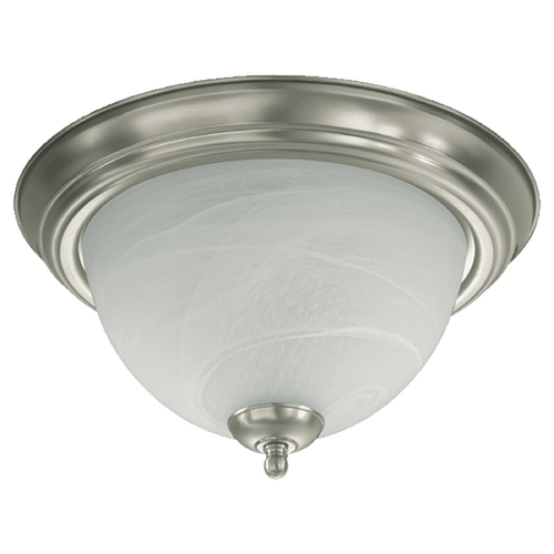 Quorum Lighting Quorum Lighting Satin Nickel Flushmount Light 3066-11-65