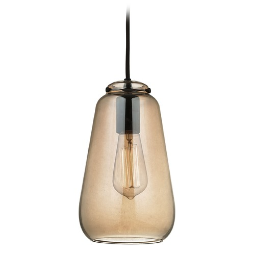 Elk Lighting Elk Lighting Orbital Oil Rubbed Bronze Mini-Pendant Light with Bowl / Dome Shade 10433/1