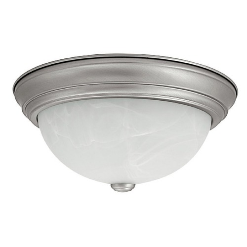 Capital Lighting Capital Lighting Matte Nickel Flushmount Light 2715MN