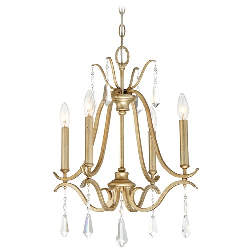 Minka Lavery Minka Laurel Estate Brio Gold Crystal Chandelier 4444-582