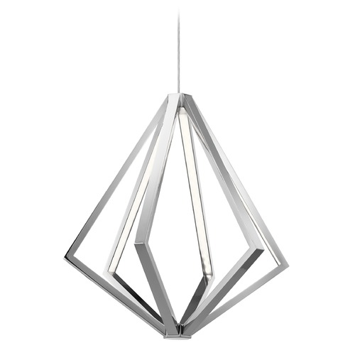 Elan Lighting Elan Lighting Everest Chrome LED Pendant Light 83884