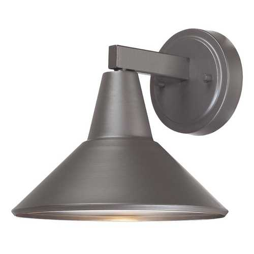 Minka Lavery Dark Sky Approved Bronze Outdoor Wall Down Light - 8-1/4-Inches Tall 72211-615B