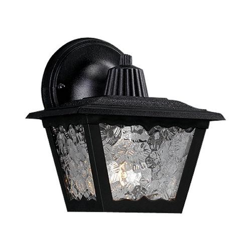 Progress Lighting Progress Outdoor Wall Light with White in Black Finish P5818-31