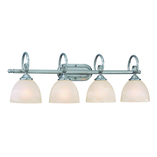 Jeremiah Lighting Jeremiah Raleigh Satin Nickel Bathroom Light 25304-SN