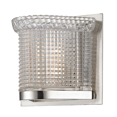 Hudson Valley Lighting Hudson Valley Lighting Denning Satin Nickel Sconce 5191-SN
